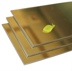 Mirror alucobond acp cladding/Aluminum composite panel