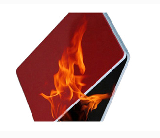 Fire rated wall panels/heat resistant panels/fire rated panels with B2 grade PE material