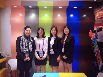 The 121th canton fair in Guangzhou