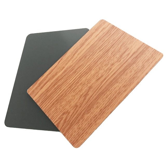 ACP aluminium sheet/acp wall panels/acp composite panel with PET indoor coating