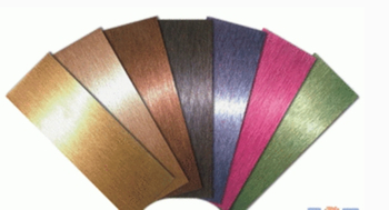 Walltes Brush Aluminium composite panel